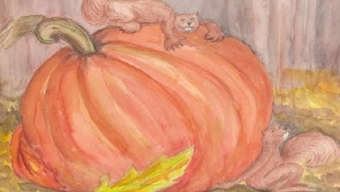 Halloween Painting Story