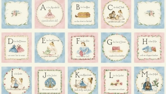 Alphabet Letters, Waldorf Style