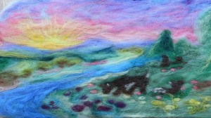 Special Thanks to Sara Wilson for her lovely felting work photograph. Learn more at www.LoveIntheSuburbs.com